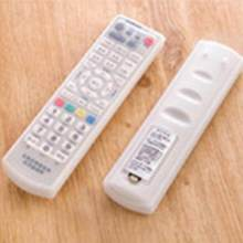 For TV Remote Control Dust Cover Protective Holder Organizer Waterproof Silicone Storage Bags(China)