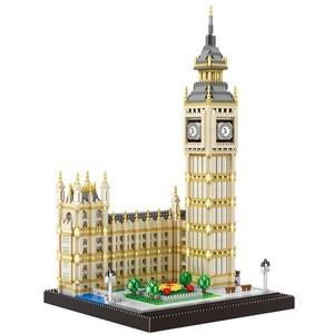 Image 2 - 3600Pcs Beroemde Architectonische Serie Londen Big Ben Te Monteren Blokken Bouwstenen Bricks Compatibel Alle Merk