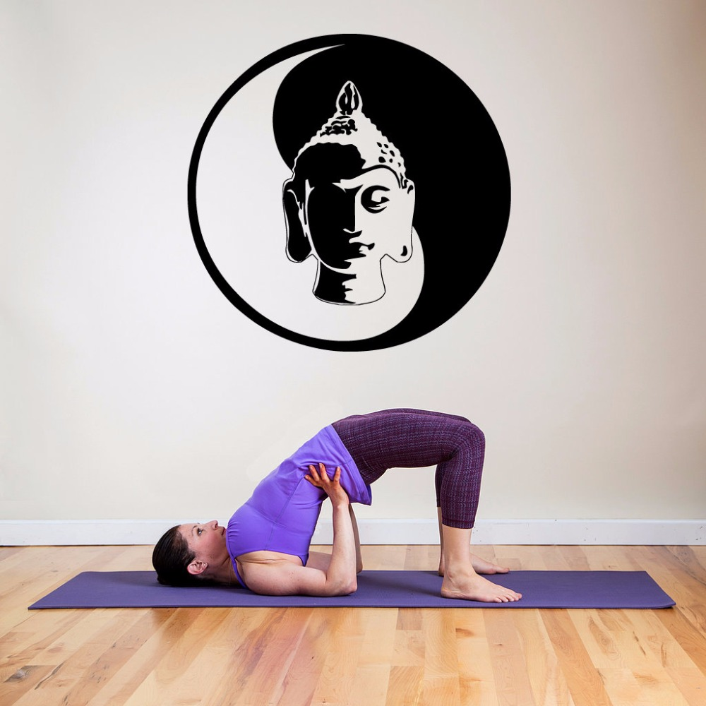 Home & Garden Home Decor Liberal Home Bedroom Decoration Yoga Hindu Style Wall Decal Buddha Ganesha Wall Art Mural Removable Vinyl Buddha Wall Stickers Ay1793 To Have A Long Historical Standing