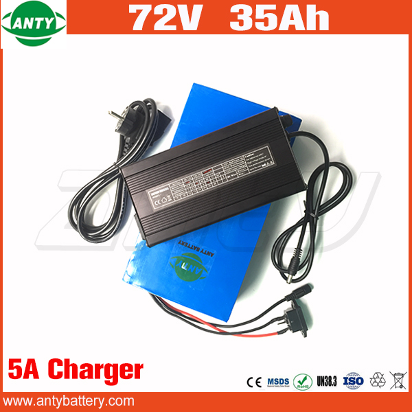Lithium Battery 72v 35Ah 2800w Super Power Electric Bicycle Battery 72v with 50A BMS 5A Charger Li-ion Battery 72v Free Shipping free customs taxes super power 1000w 48v li ion battery pack with 30a bms 48v 15ah lithium battery pack for panasonic cell