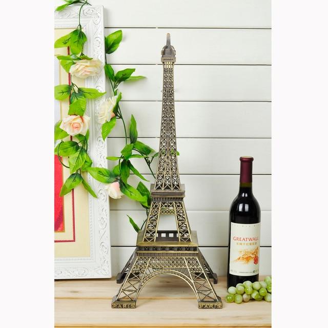 Fast Express Ems 60cm Height Restore Bronze Paris Eiffel Tower Statue Home Decoration Favors