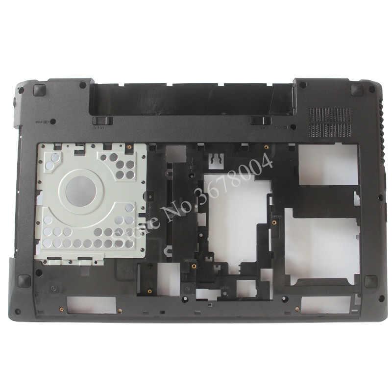Para LENOVO G580 G585 cubierta de reposamanos para portátil/cubierta inferior cubierta de la base con HDMI/Palmrest + cubierta inferior 604SH01012 AP0N2000100