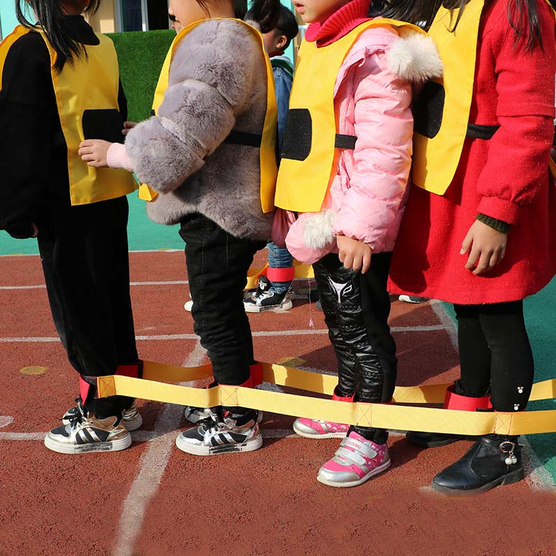 Giant footsteps Adult Children team outdoor sports game expansion training props fun games Game Equipment