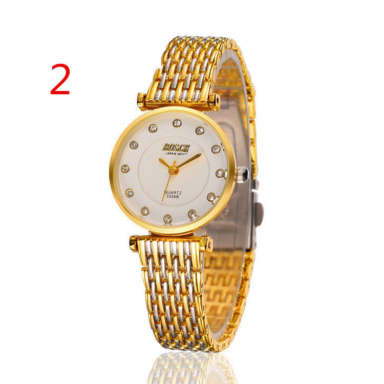 wang's Watch female fashion new couple watch ladies waterproof quartz watch casual simple student watch korean fashion watch trend simple casual atmosphere sports men s watch student couple watch luminous steel belt female watch