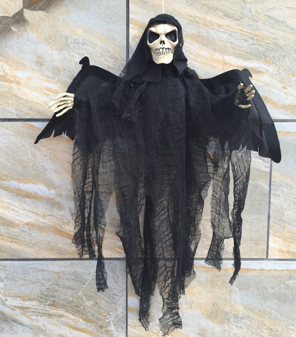 high end halloween decorations ghost bat scary toys induction funny gifts prank electric high end halloween decorations - High End Halloween Decorations