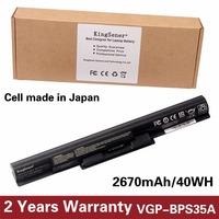14 8V 2670mAh Genuine New VGP BPS35A Battery For SONY Vaio Fit 14E 15E Series SVF1521A2E