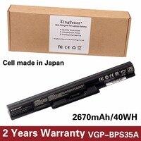 14 8V 2670mAh Genuine New VGP BPS35A Battery For SONY Vaio Fit 14E 15E Series SVF1521A2E