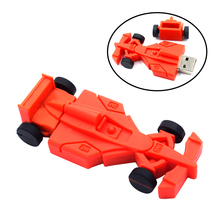 100% real capacity motorcycle sports car race red car 16GB USB 2.0 Flash Memory Stick Drive Thumb/Car/Pen