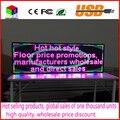 Крытый полноцветный СВЕТОДИОДНЫЙ дисплей 1000X360 мм текстовый СВЕТОДИОДНЫЙ экран USB Программируемые прокрутка Реклама СВЕТОДИОДНЫЕ Табло Знак