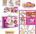 Crianças DIY brinquedos frisado Correto usar contas ambliopia brinquedos puzzle girl presentes