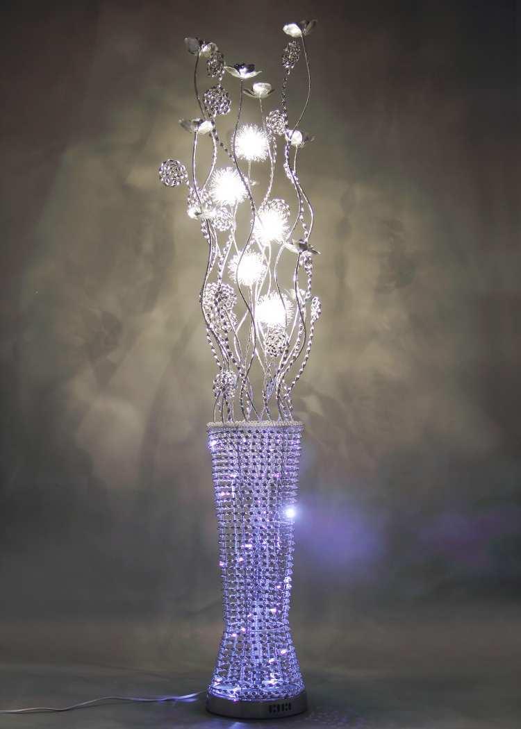 Online kopen wholesale zilver vloerlamp uit china zilver vloerlamp ...