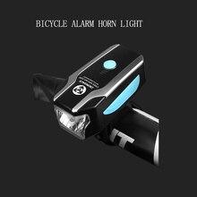 DEROACE динамик Велосипедный спорт гирлянда в форме колокольчиков зарядка через Usb руль управления для мотоциклов передний свет непромокаемые велосипед 1800 литиево