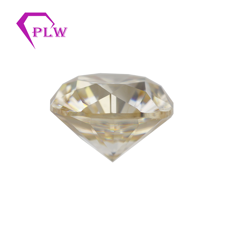 Provence jewelry 3 ex VVS yellow color 1 carat 6 5 mm cushion cut loose moissanite