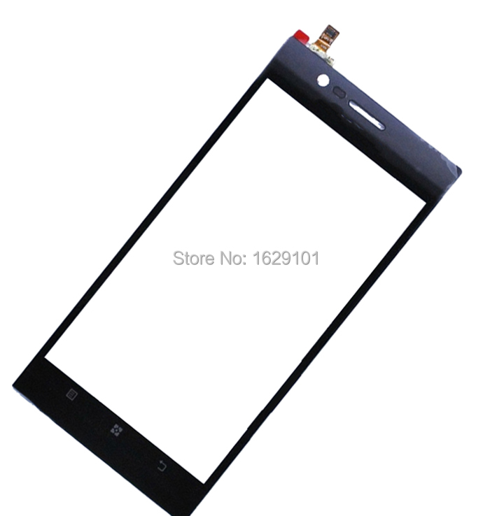 High Quality GOOD Working Top Quality Front Glass Touch Panel Screen Digitizer For Lenovo K900 Replacement