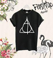 Deathly Hallows T Shirt Alan Rickman Expecto Patronum Hogwarts Printed T Shirt Summer Men'S Top Tee T-shirt Men 2017 New
