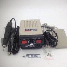 Free Shipping  STRONG 204 Micro Motor Handpiece & Control Box Jewelry Polishing Machine