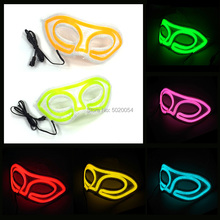 Hot Selling Lace Neon Light Up Women Mask Party Festival Club Anonoyous Half Face Fascinating Flashing Female Mask