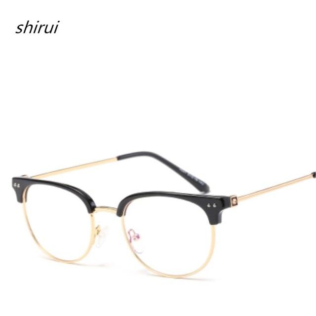9c4d437e61 TR90 Titanium Alloy Glasses Frame Men Myopia Eye Glass Prescription  Eyeglasses 2018 Korean Trend Optical Frames