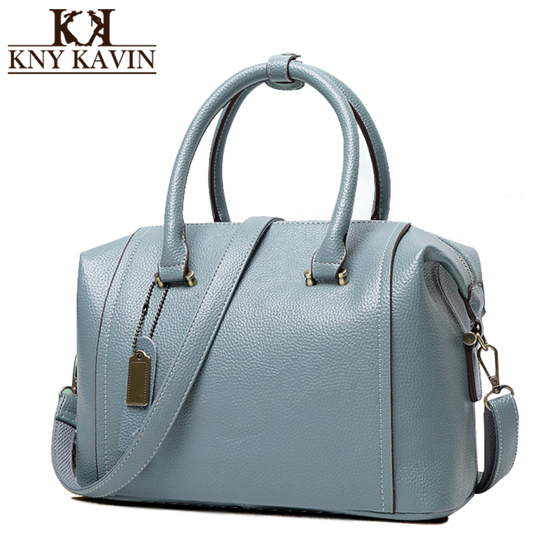 KNY KAVIN Women Leather Handbags Women's High Quality Messenger Bag Tote Handbag Ladies Famous Brands Shoulder Bag sac a main joyir fashion genuine leather women handbag luxury famous brands shoulder bag tote bag ladies bolsas femininas sac a main 2017