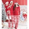 Рождество Семья Пижамы Одежда Мать Дочь Отец Сына Малыша Пижамы Одежда Семья Одежда Семья Стиль Набор 3XL QN8