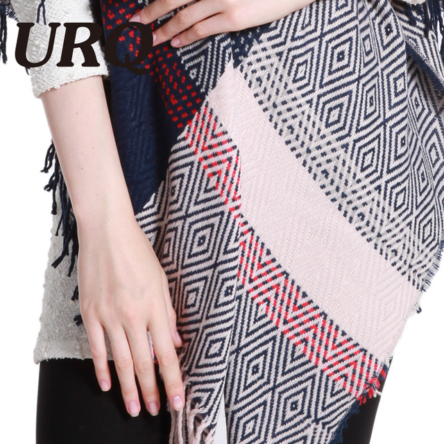 130*140 Winter Scarf square Thicken Warm Soft Shawls and Scarves for Women Printing geometric pashmina Scarf Woman Wrap 2017new