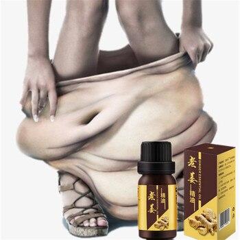 цена на 1 bottle Chinese formula Fat Burner Ginger Essential oil Detox Body cellulite Weight loss Fat burning Face slimming