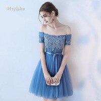 ZJ7010 New Custom color & Size Sweet 3 style Short Bridesmaid Dresses colors wedding dress Prom party dress women Plus Size
