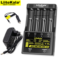 Liitokala Lii-500S Lii-402 Lii-S4 зарядное устройство  Зарядка 18650 18350 16340 10440 14500 26650 1 2 в AA AAA NiMH батарея