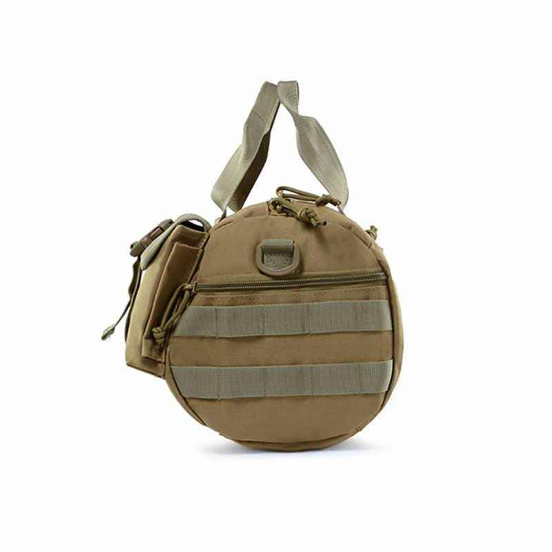 Saco Do Mensageiro Do ombro 15L Camuflagem Militar Mochila Tático Caminhadas Mochila de Escalada Ao Ar Livre Sacos de Viagem Mochila Homens Cáqui