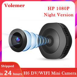 Volemer H6 Wifi микро ночная версия камеры мини Экшн-камера датчик движения видеокамера голосовой видеомагнитофон с цифровым видео DVR маленькая