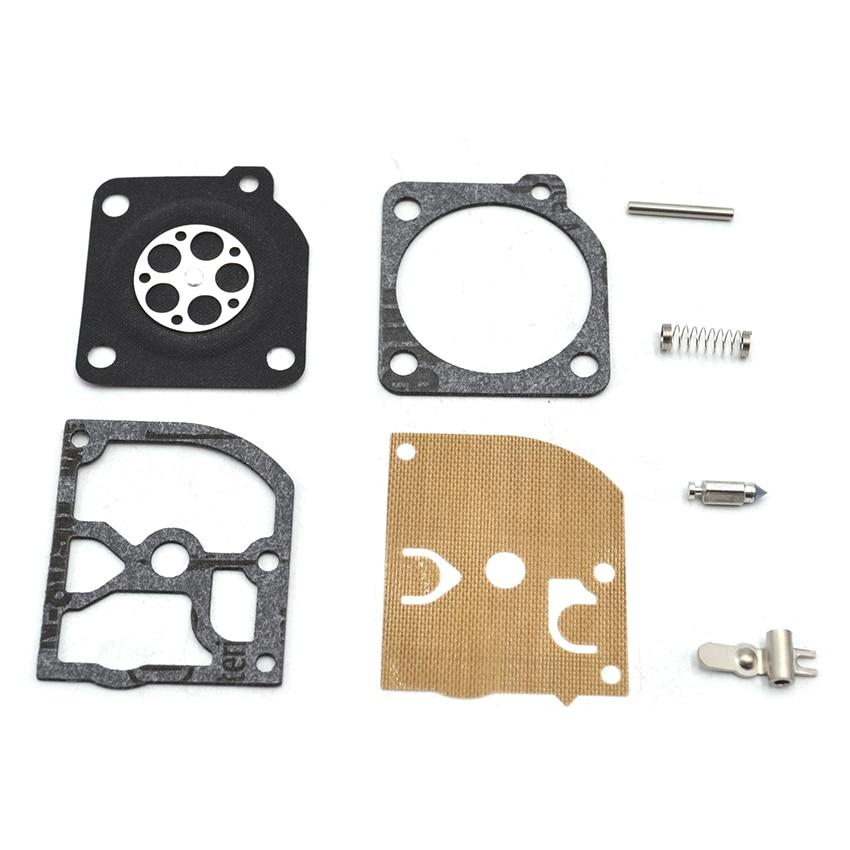 10SET RB-105 Carburetor Diaphgram Repair Kit FOR ZAMA C1Q-S CARBS STIHL MS210 MS230 MS250 10set genuine zama rb 45 carburetor carb repair kit fits for jonsered 2050 2045 2041 chainsaws 45 49 51 55 and trimmer mo