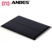 ANBES Solar Panel  0.15W 0.6W 1W 1.25W  Mini Solar System DIY For Battery Cell Phone Chargers Portable Solar Cell 5V 6V 12V