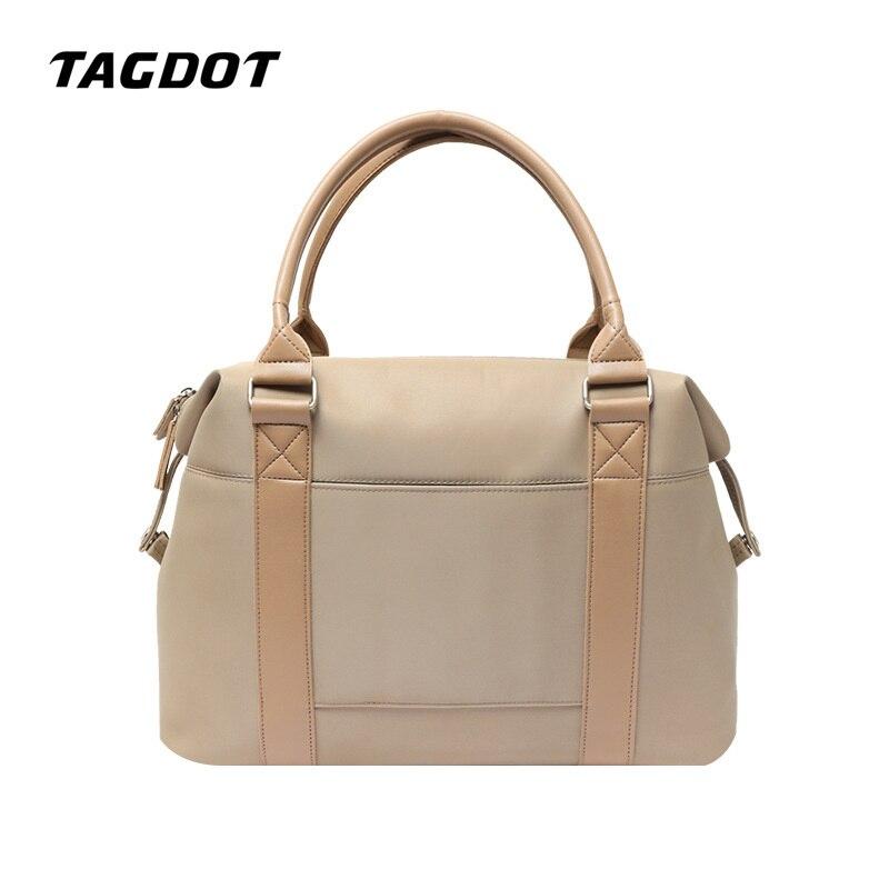 Airbag Waterproof Laptop Bag Women 15.4 15 14 13.3 13 Inch High Capacity Oxford Travel Bag Multifunction Notebook Bag Tas