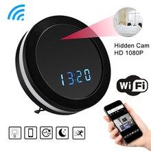 HD 1080P WiFi круглые часы мини-камера ночного видения датчик движения видео аудио рекордер DVR беспроводная камера видеонаблюдения