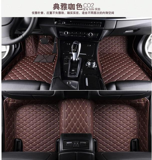 Car Styling Case Custom Special Floor Mats For Hyundai Sonata 9 2017 Waterproof Rugs Non Slip Carpets