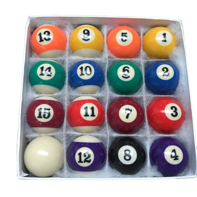 Xmlivet Cheap Billiards Pool Table Balls Full Sets In 50mm/52.5mm Resin Billiard  Pool Balls Hot Sell