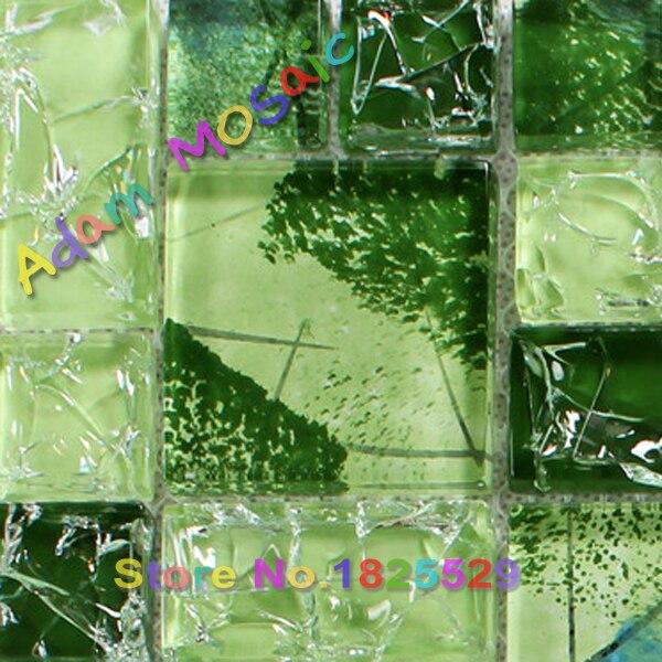 Online toptan alım yapın yeşil mozaik banyo Çin'den yeşil mozaik ...