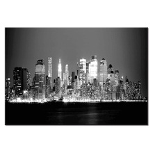 Hot Sales Framed 1Panel Picture City landscape series HD Canvas Print Painting Artwork Wall Art painting Wholesale