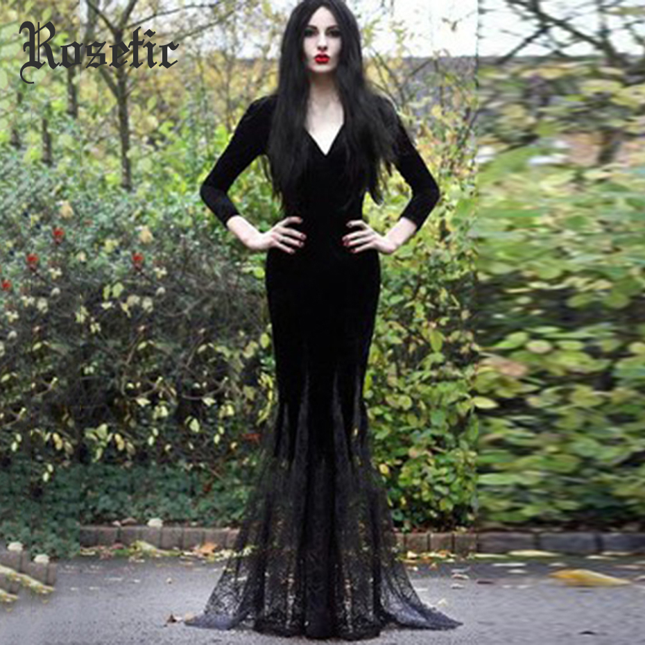 Women's Clothing Plus Womens Vintage Victorian Flare Sleeve Lave Up Gothic Bikini Beachwear Floor-length Summer Slash Neck Maxi Dress