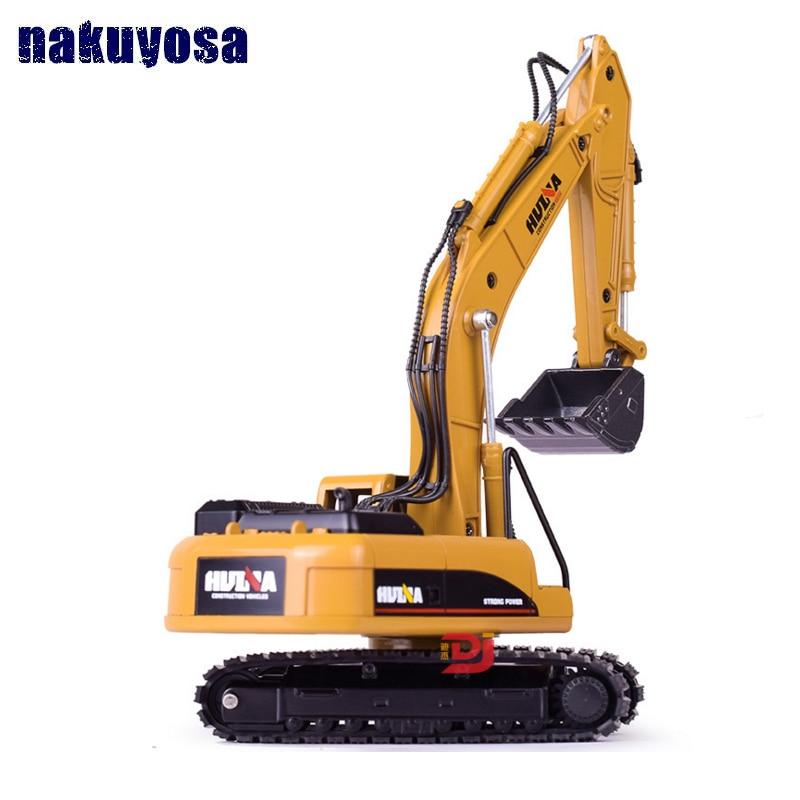 1:50 Alloy Excavator Truck Car Model Diecast For Boys Construction Toys Children Gift Kid Toy