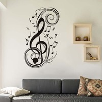 DCTOP DIY Musical Note Home Decor Music Wall Stickers Waterproof Removable Vinyl Decals Kids Room Home Decoration
