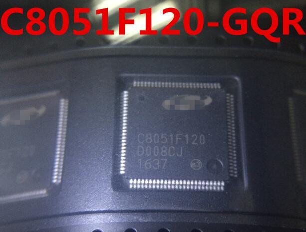 5/ADET ÇOK C8051F120 GQR C8051F120 QFP100 YENI