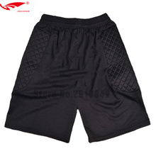 Новые Вратари, футбольные шорты, мужские футбольные тренировочные свободные шорты, футбольные регби защитные губки, Короткие ударные снасти