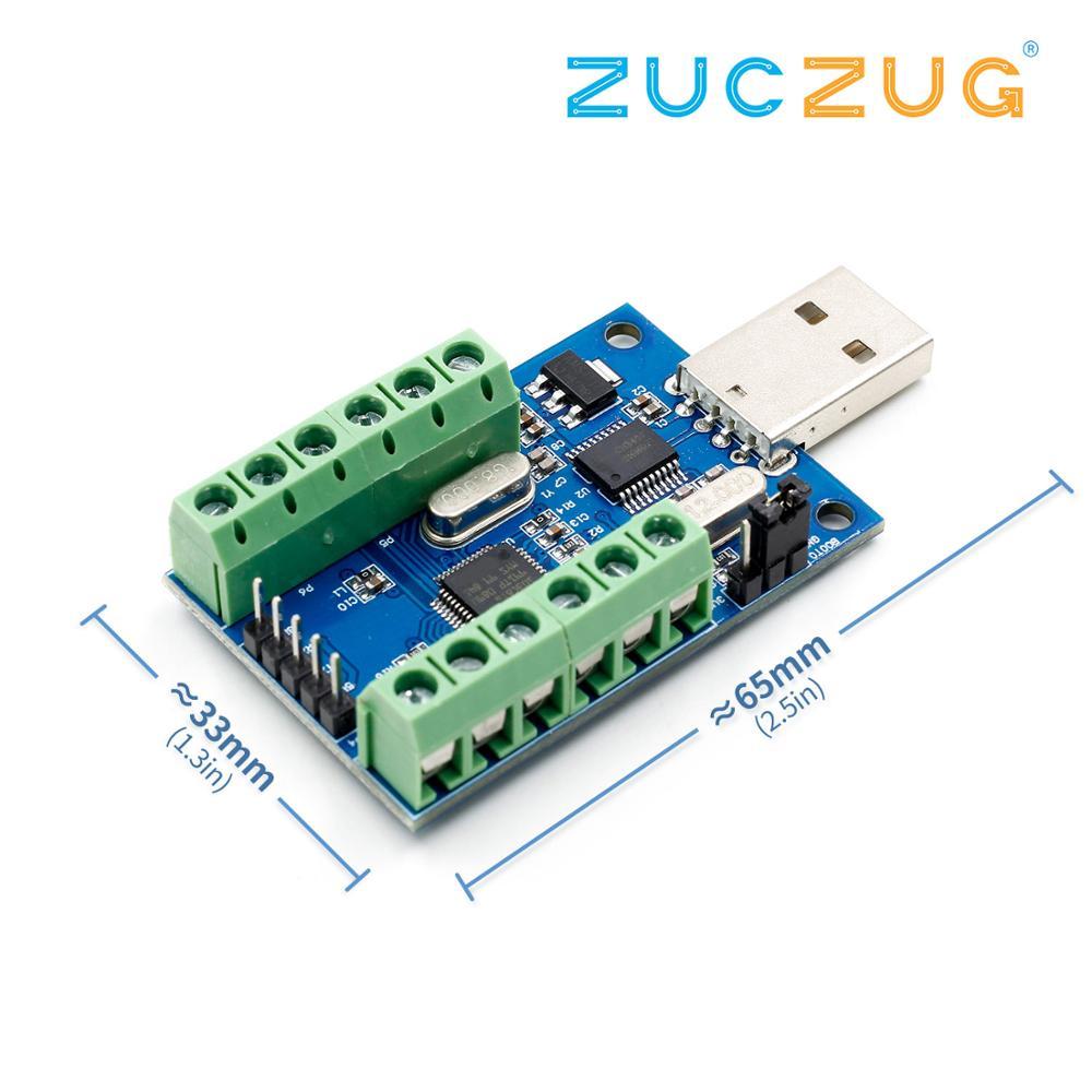 STM32F103C8T6 USB Interface 10 Channel 12Bit AD Sampling Data Acquisition STM32 UART Communication ADC Module