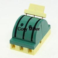 380VAC 32A Three Phase 3P Electronic Circuit Opening Load Knife Switch Green