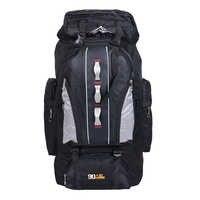 100L Mochila deportiva de gran capacidad al aire libre para hombres y mujeres, bolsa de viaje, senderismo, escalada, bolsas de pesca, mochilas impermeables