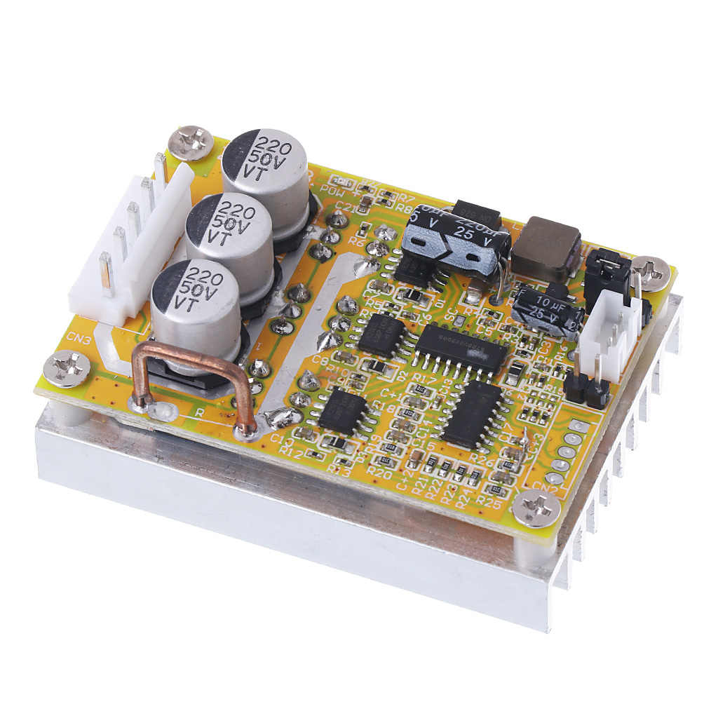 350W 5-36V DC Motor Driver Brushless Controller BLDC Wide Voltage High Power Three-phase Motor Controller G08  April 4