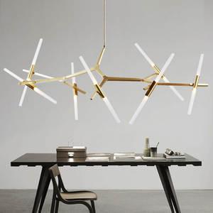 Creative Modern Tree Branch Chandelier Designer Ceiling Lamp For Living Dining Room