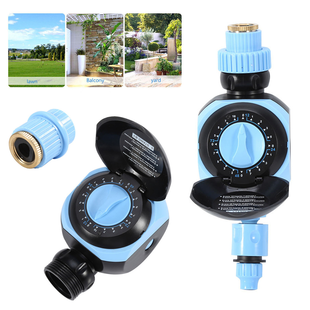JX-LCLY LIntelligent Dial Irrigation Controller Timer Garden Patio Yard Flower Watering