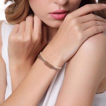Escalus Vintage unisexe cuivre Bio énergie Bracelet pour femmes magnétique guérison hommes Bracelet de mode bijoux Bracelet charme 8